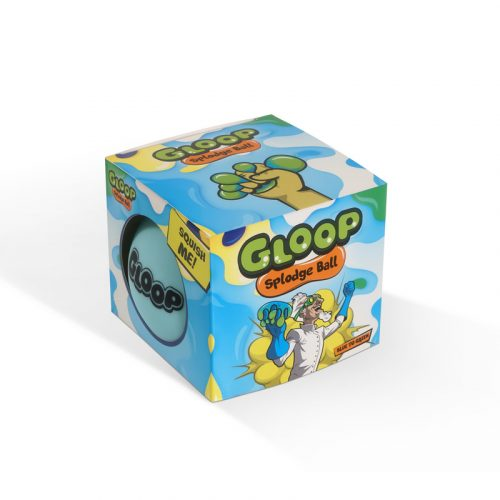 Gloop Splodge Ball Blue