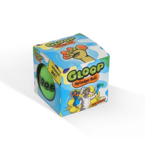 Gloop Splodge Ball Green Packaging
