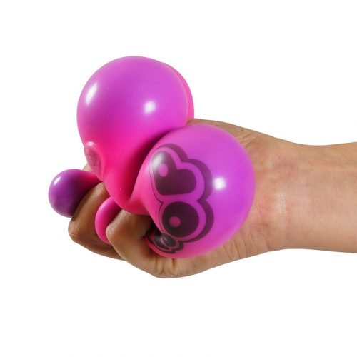 Gloop Splodge Ball Pink in hands
