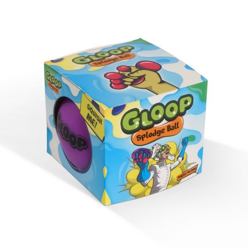 Gloop Splodge Ball Packaging